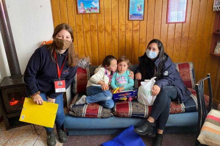 Caleta Bay inicia inédito voluntariado corporativo en Puerto Montt con foco en educación en primera infancia