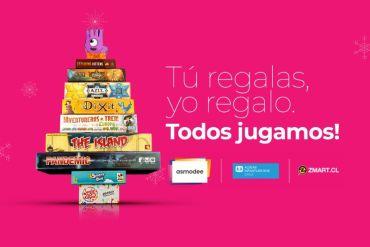 Distribuidora de juegos de mesa impulsa campaña de Navidad junto a Aldeas Infantiles SOS Chile