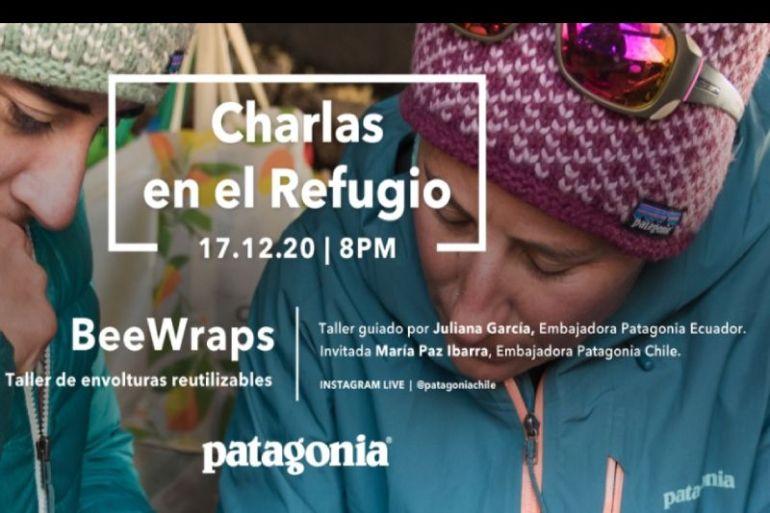 Usa envolturas reutilizables: taller Beewraps de Patagonia junto a grandes figuras de la escalada y montaña femenina Latinoamericana.