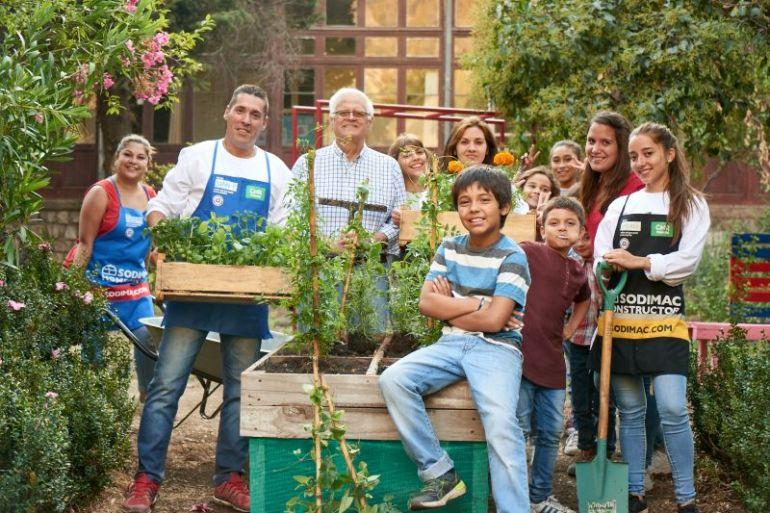 Pacto Global Chile premió programa de Sodimac hacia la comunidad por aporte para reducir desigualdades y tener ciudades sostenibles