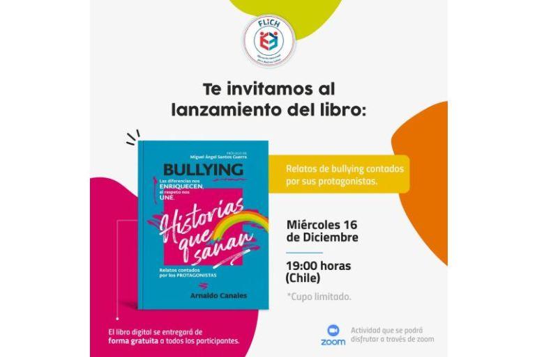 """""""Historias que sanan"""": Lanzan libro que muestra vivencias de jóvenes chilenos en torno al bullying"""