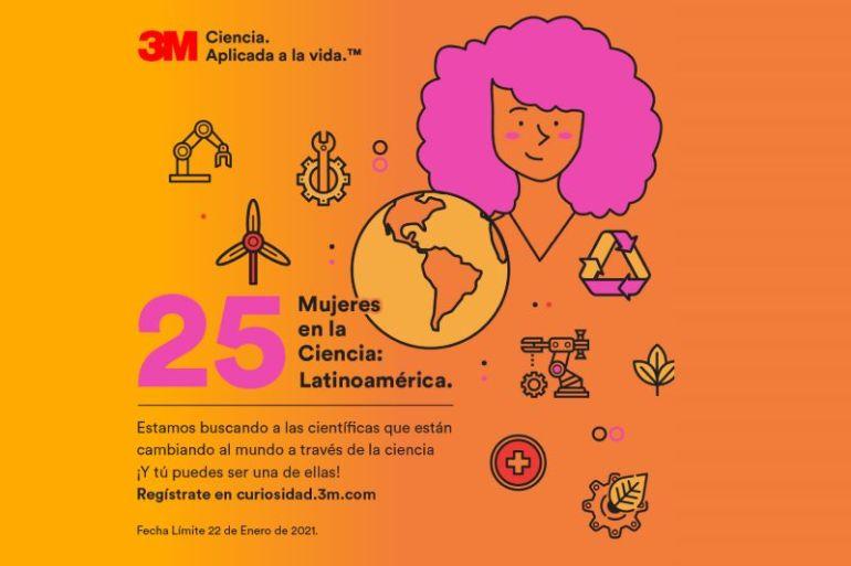 Buscan a las 25 científicas emergentes en Latinoamérica: ¿Conoces alguna?, cuéntale de esta convocatorio de 3M