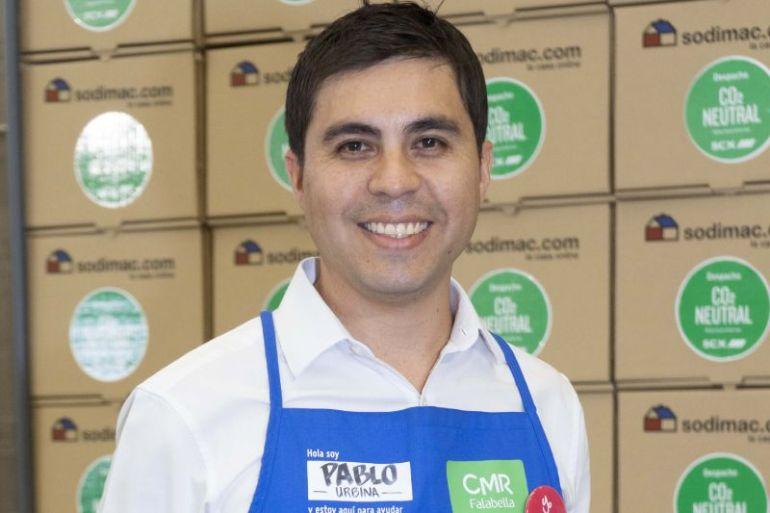 """Pablo Urbina, subgerente de sostenibilidad de Sodimac Chile: """"A través de alianzas podemos amplificar el impacto del voluntariado que desarrollamos y contribuir de forma más efectiva en la solución de los problemas que afectan a la comunidad y al país""""."""