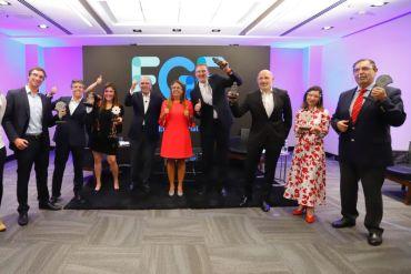Sky, Saesa, Gasco, Entel, Caja Los Andes, 3M y Coordinador Eléctrico Nacional fueron distinguidos por FGE con el Reconocimiento al Compromiso con la Integridad