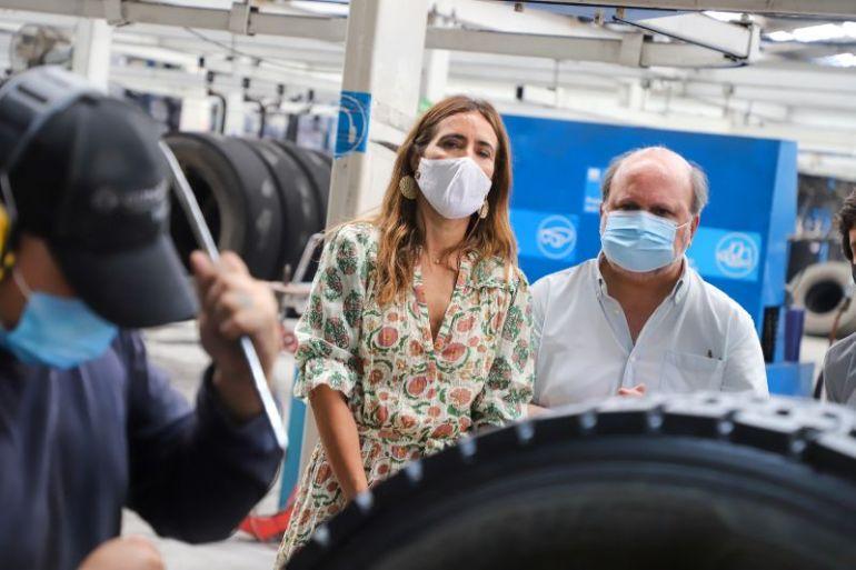 Con ambiciosas metas para los neumáticos informan el inicio de la ley de reciclaje en Chile