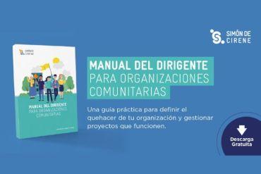 Nuevo Manual de Dirigente para Organizaciones Comunitarias elaborado por Corporación Simón de Cirene