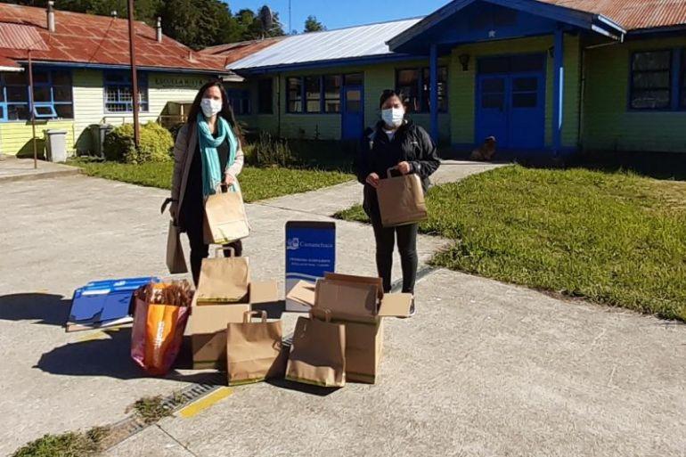 Salmones Camanchaca realiza exitoso balance de Programa Escuelas Sostenibles 2020