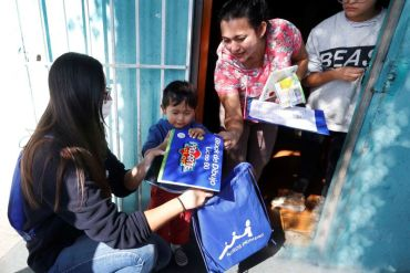 Fundación Niños Primero inicia campaña para lograr entregar útiles escolares a mil niños y niñas vulnerables de 24 comunas del país