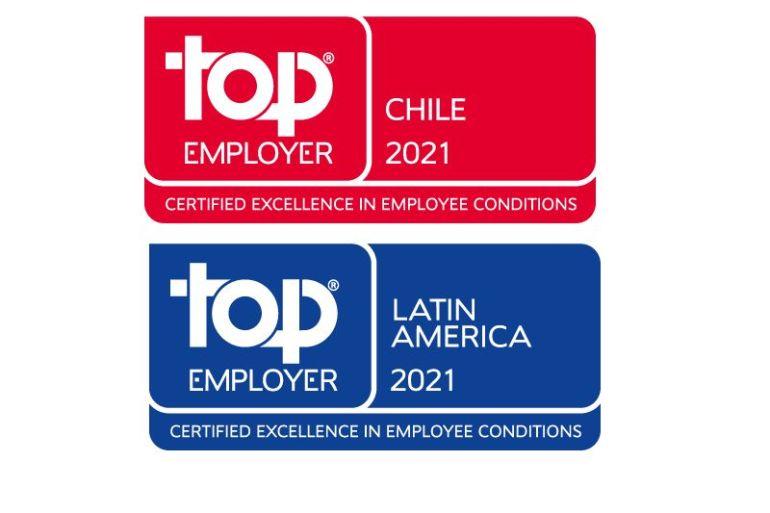 Boehringer Ingelheim ha sido reconocida como Top Employer 2021 en Chile