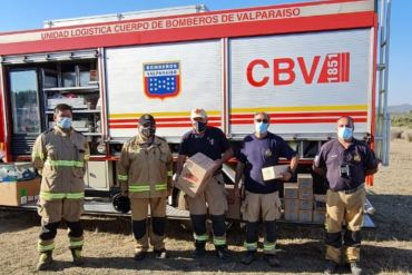Tresmontes Lucchetti entrega colaciones para funcionarios de bomberos y Conaf que trabajan en incendio de Lago Peñuelas