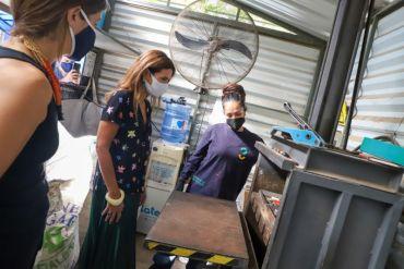 Reabren punto limpio del Parquemet con nuevo sistema de recarga