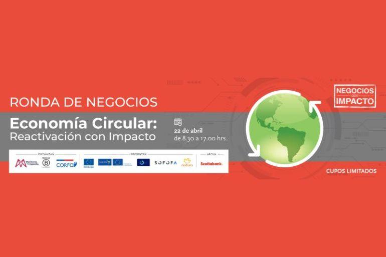 Ronda de Negocios en Economía Circular será el punto de encuentro para impulsar una reactivación sostenible en el país