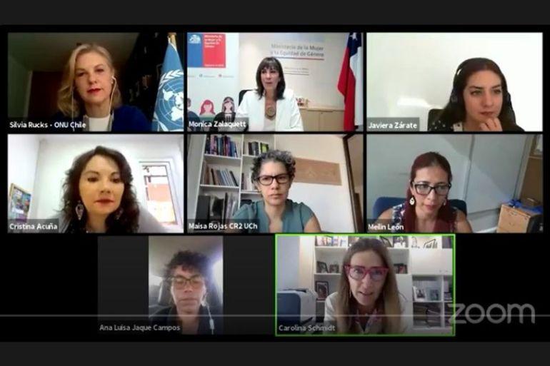 """""""Mujeres: agentes de cambio para el desarrollo sostenible"""", el conversatorio que visibilizó los liderazgos femeninos ante el cambio climático"""