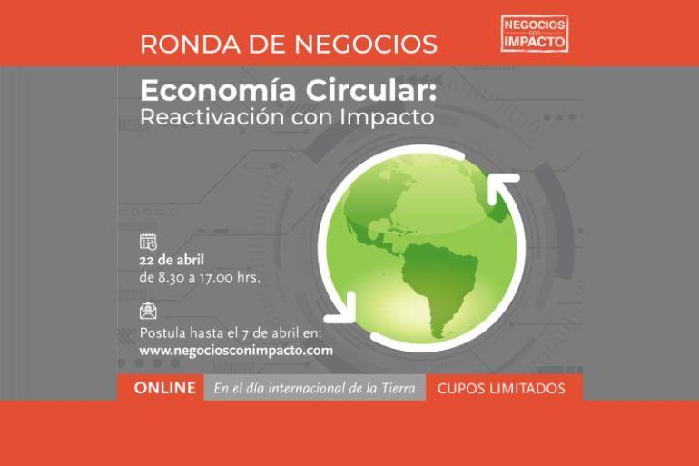 Invitan a nueva Ronda de Negocios con foco en Economía Circular