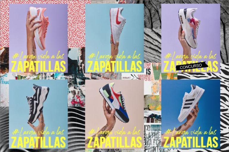 """""""Larga vida a las zapatillas"""", la campaña de Tiendas Paris nos dice: ¡No las botes! Personaliza y dale una segunda vida a tus zapatillas favoritas"""