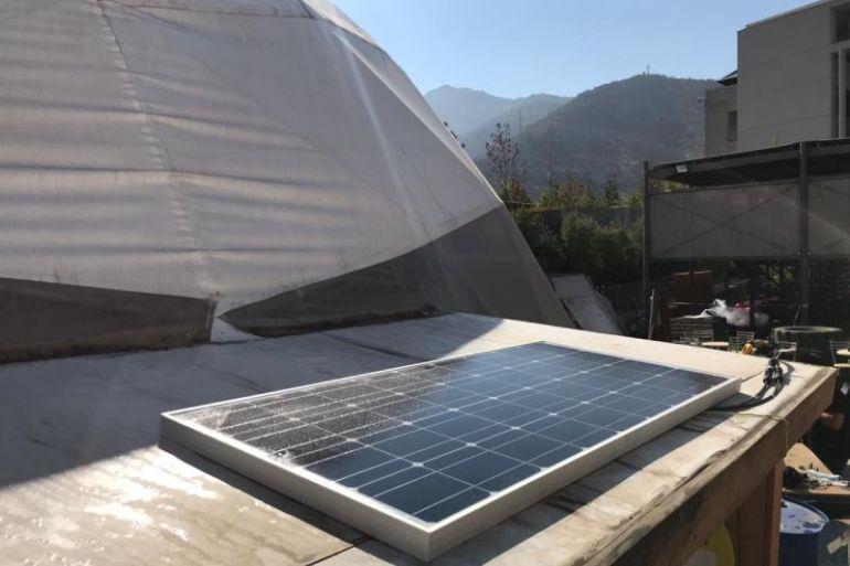 Ingeniería UDD apoya implementación de servidores impulsados con energía fotovoltaica