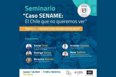 """""""Caso Sename: El Chile que no queremos ver"""": Educación emocional como transformación social"""