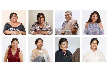 Colección de ponchos y ruanas tejidos con fibra de Alpaca hilada 100% a mano, es lo nuevo que trae Fundación Artesanías de Chile