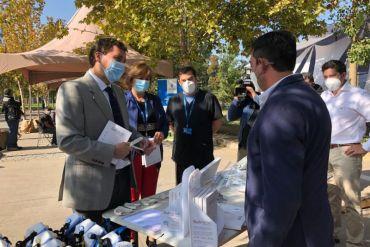 Más de 172 mil elementos de protección para personal de salud han entregado emprendedores apoyados por Corfo y Ministerio de Ciencia