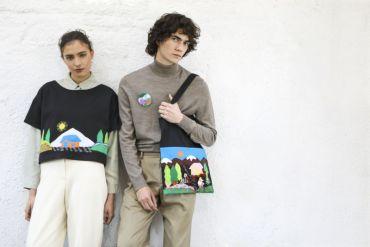 Reutilización de telas en desuso: Artesanías de Chile lleva la arpillera a la moda