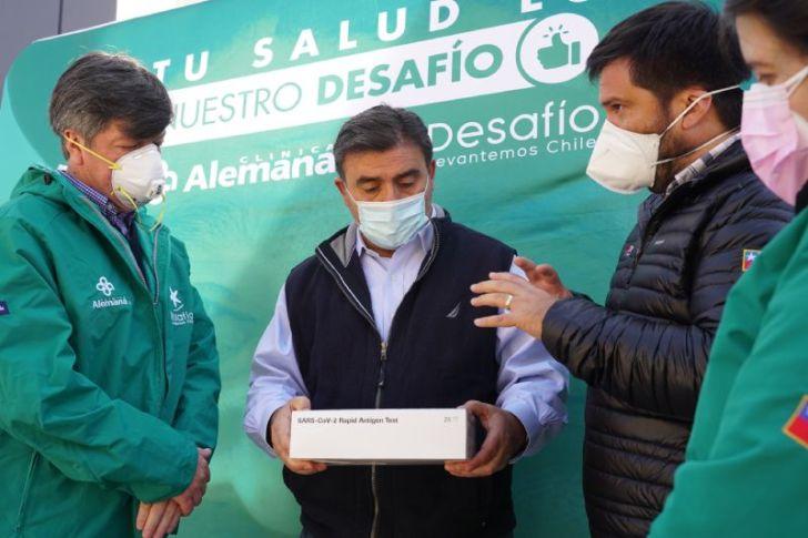 Desafío Levantemos Chile, Colina y Clínica Alemana y  firman nuevo convenio en salud para beneficiar a los vecinos