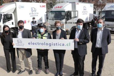"""MTT, Energía y Corfo lanzan """"Experiencia Electrologística"""" para que empresas de distribución prueben vehículos eléctricos"""