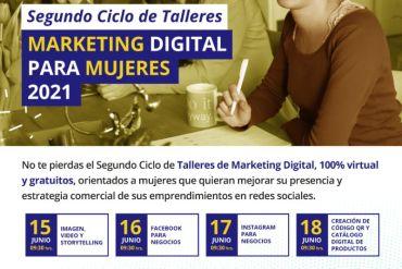 Corfo e Innovacien lanzan nuevo ciclo de talleres gratuitos para capacitar a emprendedoras en marketing digital
