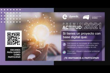 Aún hay plazo para postular al Premio Actitud 2021 de Fundación everis Chile