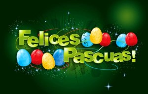 Carteles de felices pascuas