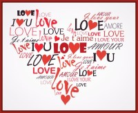 Corazones De Amor Para Colorear Con Frases