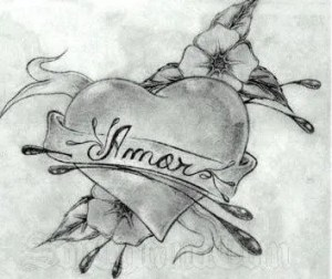 Dibujo-a-lapiz-de-amor