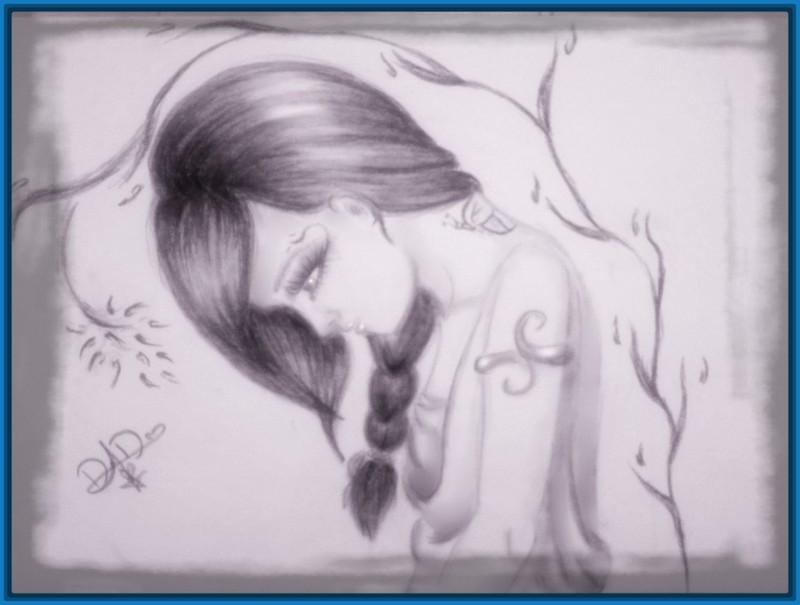 Imagenes De Soledad De Mujeres: Imagenes De Amor Tristes Para Dibujar