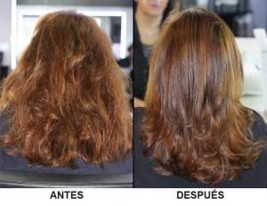 Botox para el pelo Cómo se aplica mojado