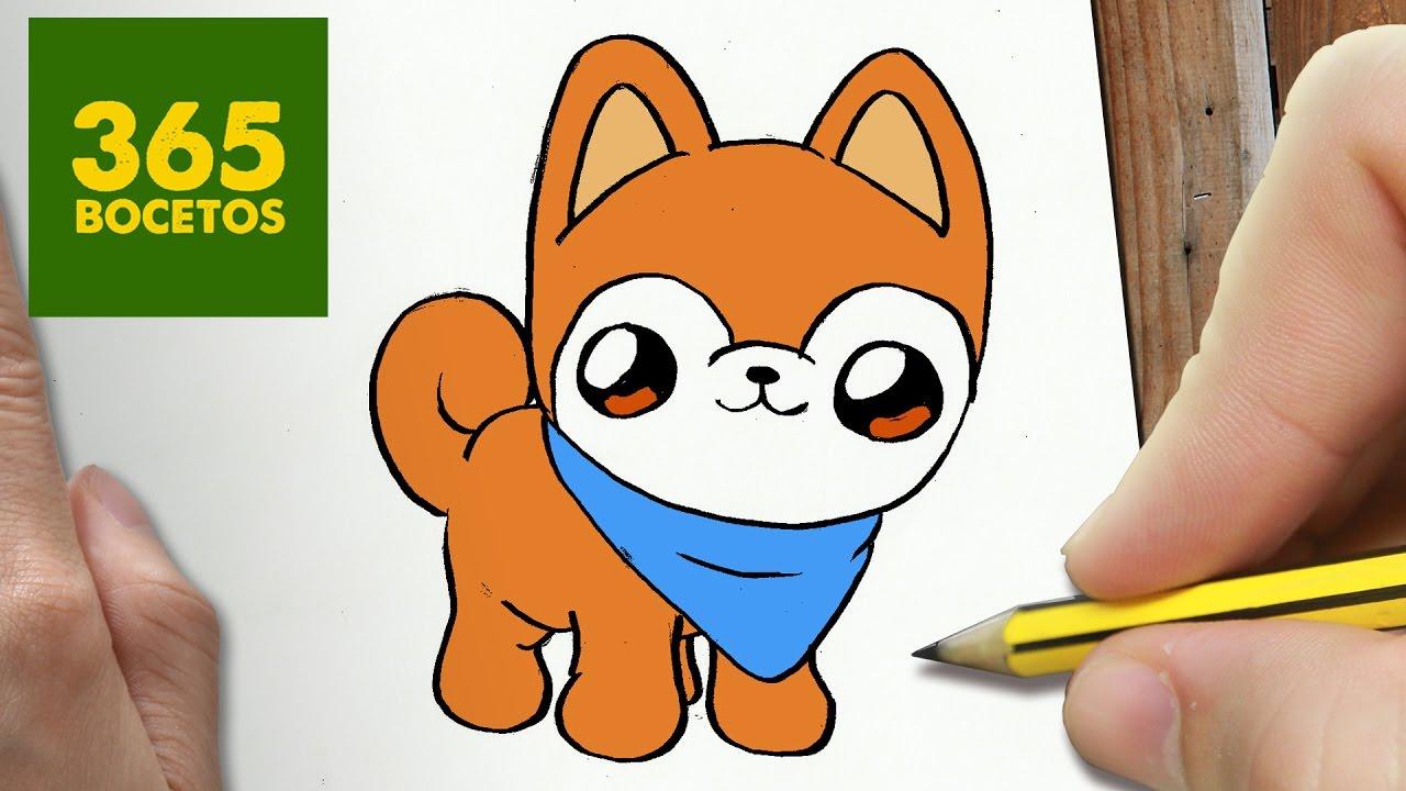 Dibujos De Animales Kawaii Faciles