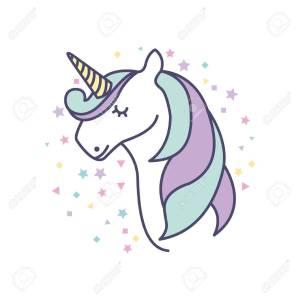 Dibujos Kawaii de unicornio publicar