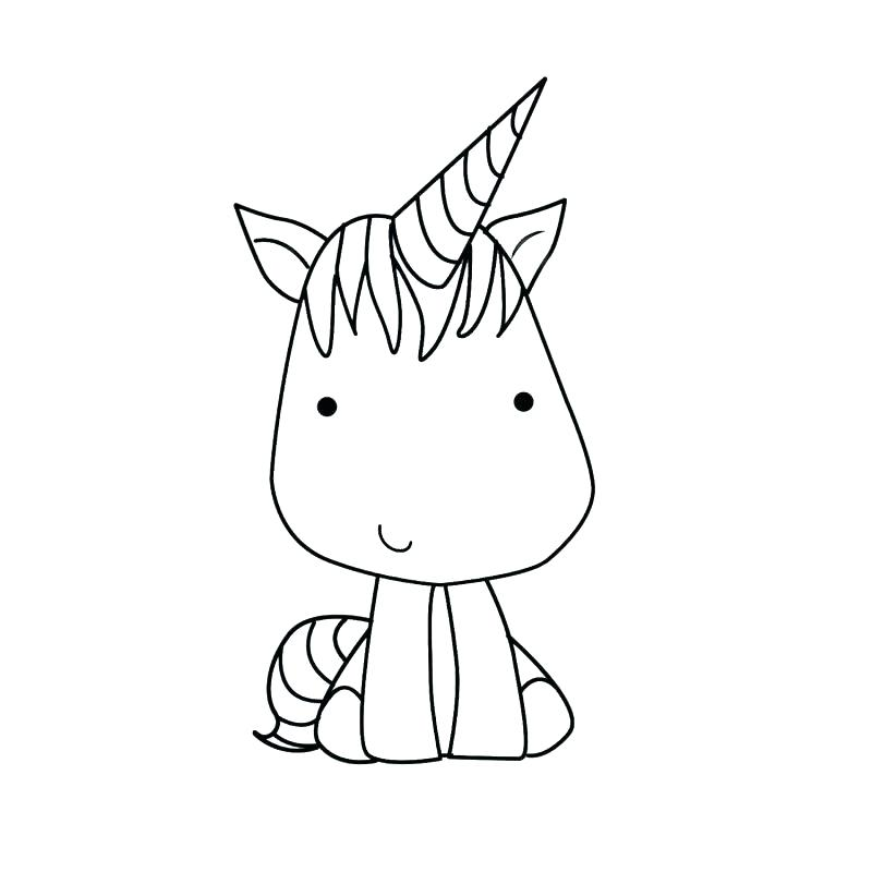 Dibujos Kawaii De Unicornio Para Pintar Fotos De Amor