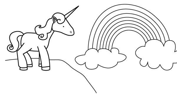 Dibujos De Unicornios Faciles Para Colorear Fotos De Amor
