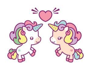 Dibujos de unicornios muy lindos