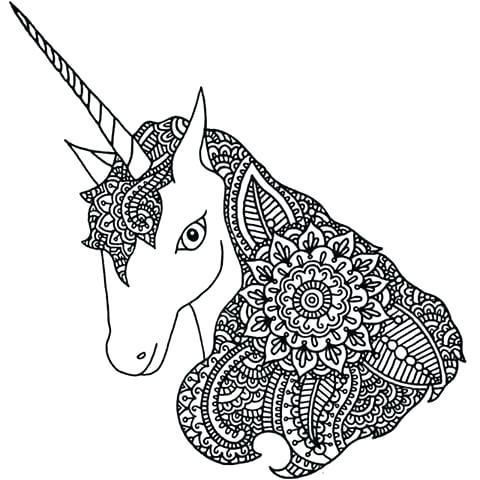 Dibujos De Unicornios Mandalas Fotos De Amor Imagenes De Amor