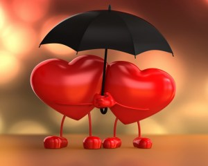 Figuras de amor en foami