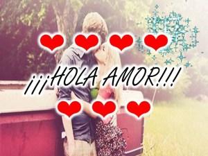 imagenes de amor hola amor