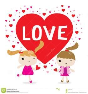 vector-lindo-del-personaje-de-dibujos-animados-de-la-muchacha-del-amor