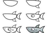 Como-dibujar-un-pez-paso-a-paso-fácil-para-niños