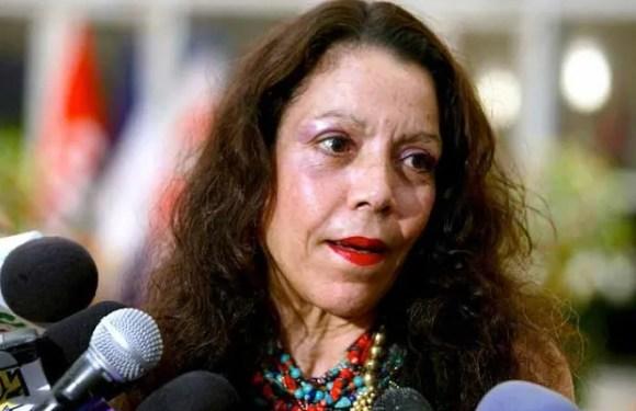 "Rosario Murillo, Vicepresidenta de Nicaragua critica a quienes ""mendigan castigo"" para Ortega"