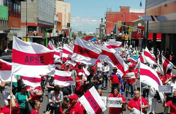 Sindicatos en  Costa Rica fijaron agenda de lucha este 1° de Mayo