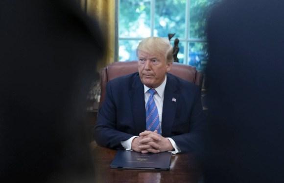 """Trump: """"Si los inmigrantes ilegales están descontentos en los centros de detención, que no vengan"""""""