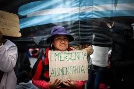 Pueblo argentino pide declaración de emergencia alimentaria