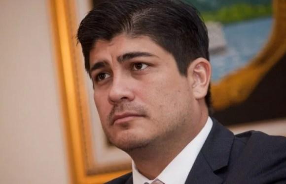 Carlos Alvarado como político peor evaluado en Costa Rica