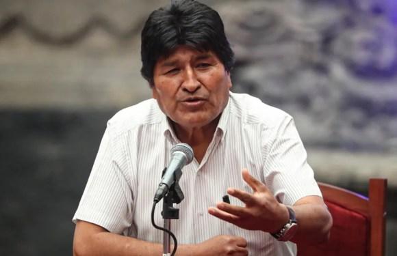 Publican audio de Morales donde ordena cerco a ciudades bolivianas