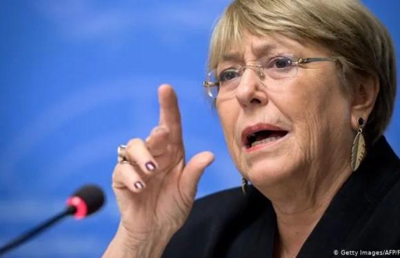Bachelet critica a China, Rusia y EE.UU.